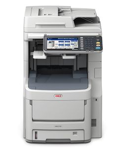 OKI MC770dnfax MFP color LED A4 34ppm (45376114)