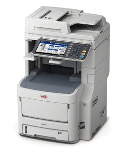 OKI MC780DNFAX 4IN1 COLOR A4 40 PPM BLACK & COLOR, 2GB RAM FINISHER  IN MFP (45377014)