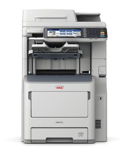 OKI MB770DFNFAX A4 52PPM LED 1200X1200 DPI DUPLEX, FINISHER   IN MFP (45387404)