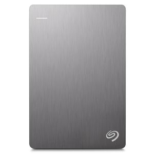 SEAGATE BackupPlus Slim 11.7mm 1TB HDD USB 3.0/2.0 compatible with Windows and Mac silver (STHN1000401)
