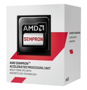 AMD Sempron 2650 Socket-AM1,  Dual Core, 1.4GHz, 1MB, 25W, 28nm, Radeon R3-series,  Boxed w/fan (SD2650JAHMBOX)