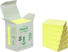 3M Yellow Block (653-1B) 100% Recycled Papper 6-Pack (6531B)