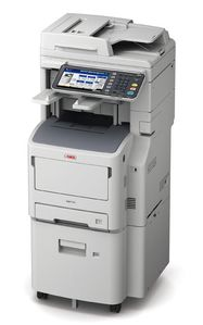 OKI MB770dnvfax MFP mono Printer A4 (46148711)