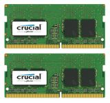 CRUCIAL 16GB KIT (8GBX2) DDR4 2400 MT/S PC4-19200 CL17 SRX8 UNBSODIMM MEM