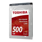 TOSHIBA BULK L200 SLIM MOBILE HD 500GB 7MM SATA