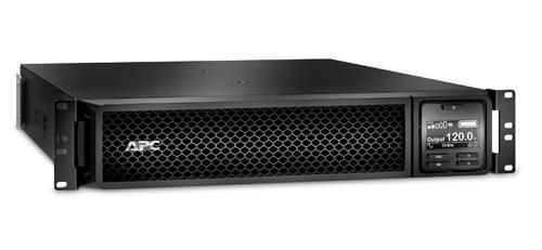 APC SRT3000RMXLA Double-conversion (Online) 3000VA Rackmount/ Tower Black uninterruptible power supply (UPS) (SRT3000RMXLA)