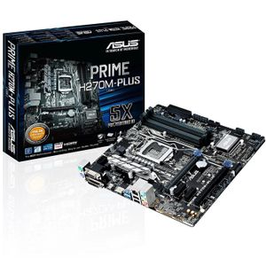 ASUS Prime H270M-Plus,  Socket-1151 (PRIME H270M-PLUS)