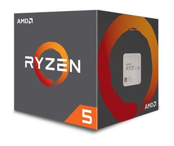 AMD CPU AMD AM4 Ryzen 5 1500X, 3700MHz - 18MB Cache - 65W (YD150XBBAEBOX)