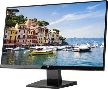 "HP 24w - LED-skærm - 23.8"""" - 1920 x 1080 Full HD (1080p) - IPS - 250 cd/m² - 1000:1 - 5 ms - HDMI, VGA - sort onyx (1CA86AA#ABB)"