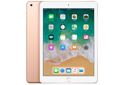 "APPLE iPad 9.7"" 32GB Cell Gull WiFi+Cell,  9.7"" FHD retina-skjerm,  8MP/1.2MP Kamera, iOS 11 (6th gen) (MRM02KN/A)"