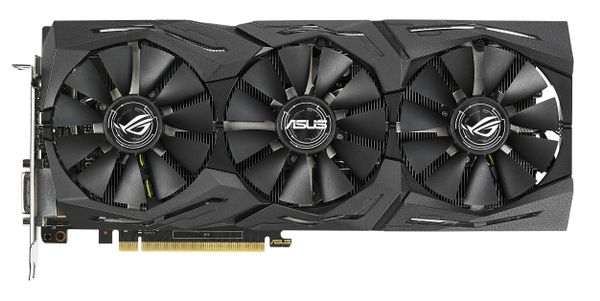 ASUS GeForce GTX 1070 Ti ROG STRIX 8GB, DVI, 2 x HDMI, 2 x