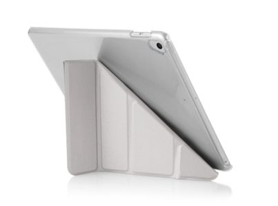 PIPETTO Pipetto Origami Case  Sølv, for iPad 9.7 (2017/ 2018) (P030-59C-4)
