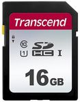 TRANSCEND Memory card Transcend SDHC SDC300S 16GB CL10 UHS-I U1 Up to 95MB/S (TS16GSDC300S)