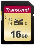TRANSCEND SDHC-kort Premium 500S Class 10, UHS-I, UHS-Class 1 16 GB (TS16GSDC500S)