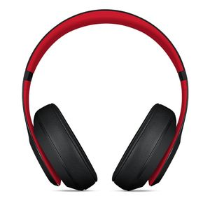 APPLE BEATS STUDIO3 WIRELESS OVER-EAR HEADPHONES DEFIANT BLACK-RED     IN WRLS (MRQ82ZM/A)