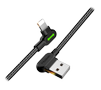 MCDODO USB AM to Lightning 0.5m black