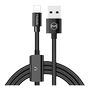 MCDODO USB AM to Lighting+ Lighting audio 1.2m black