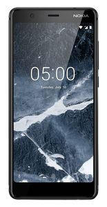 NOKIA SIMFREE NOKIA 5 BLACK F-FEEDS (11ND1B01A08)