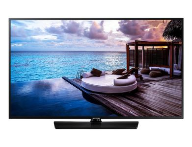 SAMSUNG Hotel TV_ 65__ 65HJ690U_ (59_7mm)_ UHD_ Tizen_ 20W Speakers_ Analog/ DVB-T2/ C/ S2 tuner_ Smart (HG65EJ690UBXEN)