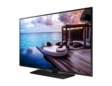 SAMSUNG Hotel TV_ 43__ 43HJ690U_ (58_8mm)_ UHD_ Tizen_ 20W Speakers_ Analog/ DVB-T2/ C/ S2 tuner_ Smart (HG43EJ690UBXEN)