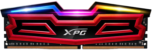 A-DATA ADATA XPG Spectrix D41 DDR4 16GB 2x8GB 2666MHz RGB RED (AX4U266638G16-DR41)