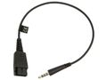 JABRA 3.5MM CORD TO QD ADAP CORD FOR SPEAK 410