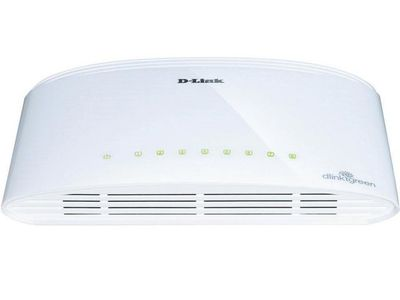 D-LINK 8-Port Gigabit Switch, Auto Uplink Layer2 (DGS-1008D/E)