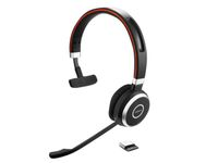 JABRA Evolve 65 MS mono - headset- on ear - wireless - Bluetooth (6593-823-309)