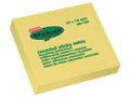 STAPLES Notes STAPLES Recycl Sticky 76x76 mm gul