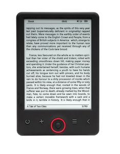 "DENVER 6"" E-ink Ebook reader w light (EBO-630L)"