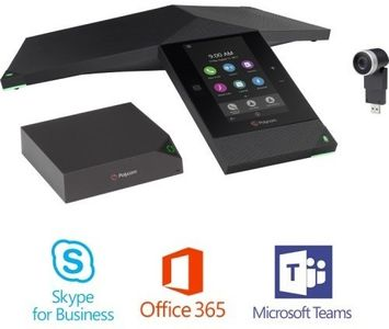 POLYCOM REALPRESENCE TRIO 8800 COLLAB.KIT WITH EE-MINI SFB LICS IN PERP (7200-85310-019)