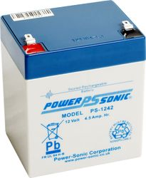 Power-Sonic 12V 4.5Ah 5 YEARS DESIGN LIFE (PS1242)