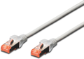 MICROCONNECT S/FTP CAT6 0.5m Grey Snagless TT