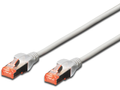 MICROCONNECT SSTP CAT6 1M Grey Snagless