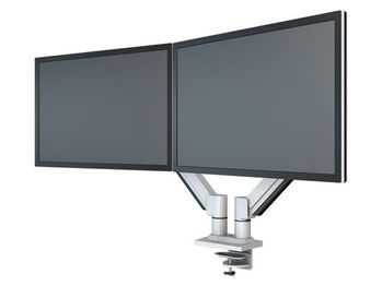 KENSON Twin Monitor Arm med gasslift TwinArm med gasslift LCD  SILVER (10046SI)