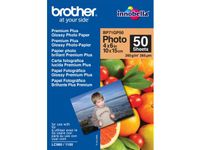 BROTHER glossy photo paper white 100x150mm 50 sheets (BP71GP50)
