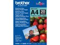 BROTHER glossy photo paper white 260g/m2 A4 20 sheets 1-pack