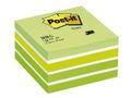 POST-IT Fresh Green-White Stri Cube