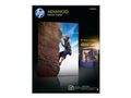HP advanced photopaper glossy borderless 250g/m2 25sheet 13x18cm