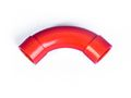 BISSON 90 DEGREE SWEEPING BEND RED