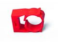 BISSON PIPE CLIPS RED