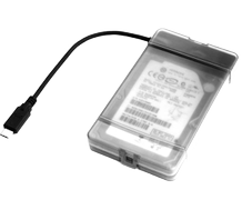"DELTACO USB3.1 Gen2 2.5"" HDD case"