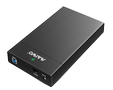 DELTACO HDD enclosure, USB 3.0, 3,5