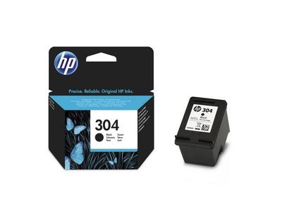 HP 304 Black Ink Cartridge (N9K06AE#UUS)