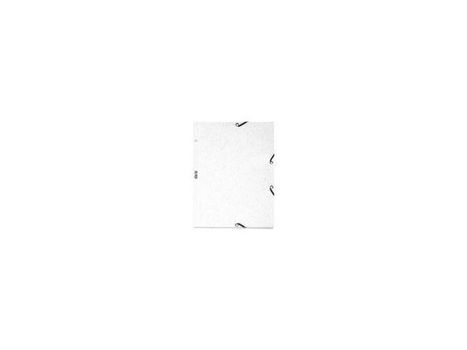 b0a59312 EXACOMPTA 3-flap elastik folder A4 board white | Sharp