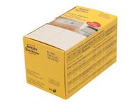 AVERY Franking Labels, Double 2 labels/ sheet 135x38mm white 1000 labels/ pack (3435)