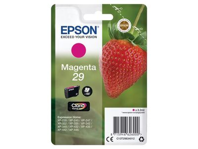 EPSON Magenta Ink Cartridge 29 Claria Home New Pack Size (C13T29834012)