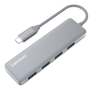 LENOVO Type-c To: 4*usb3.0 GRAY