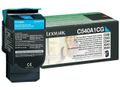 LEXMARK Cyan Return Program Toner Cartridge