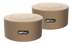 DEFUNC DUO, Bluetooth speaker, duo-pack, 360 degrees sound, goldish